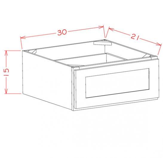 SC-1DB30 - 1 Drawer Base - 30 inch
