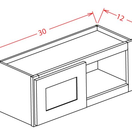 """SMW-W3018 - 30"""" Bridge Cabinet - 36 inch"""