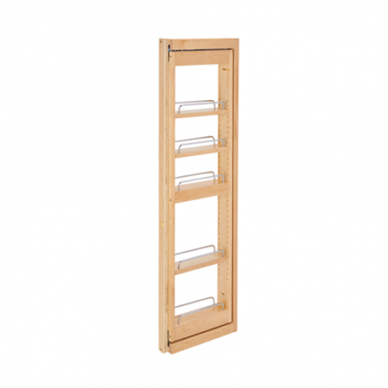 """432-WFBBSC42-3C - 3"""" Wall Filler Pullout w/ Ball Bearing Soft-Close (42""""H Wall Cabinets)"""
