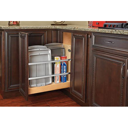 "447-BCSC-5C - 5"" Tray Divider Pullout Blum Soft Close"