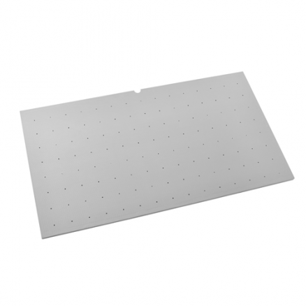 "4DPBG-3921-1 - Cut-To-Size Vinyl Peg Board Drawer Insert (30-1/8 to 39-1/8"")"