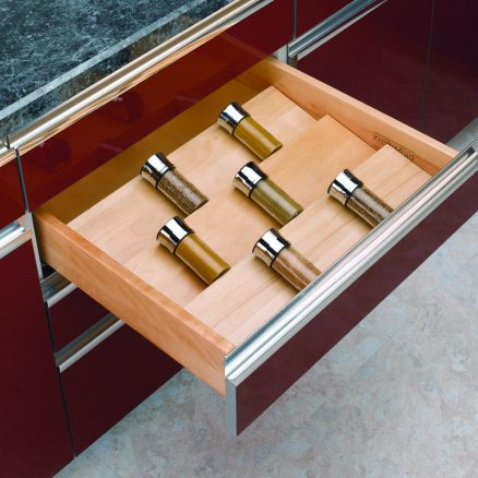 4SDI-24 - Trimmable Spice Drawer Insert