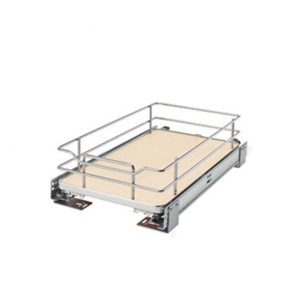 5330-12BCSC-GR - Base Cabinet Solid Shelf Pullout w/ Blum Soft-Close - Base Cabinet Solid Shelf Pullout w/ Blum Soft-Close