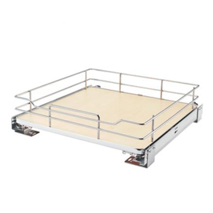 5330-21BCSC-GR - Base Cabinet Solid Shelf Pullout w/ Blum Soft-Close