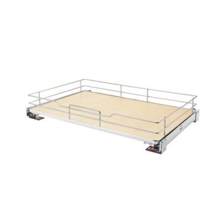5330-33BCSC-GR - Base Cabinet Solid Shelf Pullout w/ Blum Soft-Close