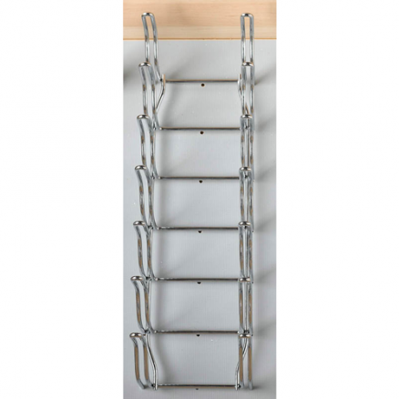 5DLD-1-CR - Stainless Steel Lid Organizer for Peg Board Drawer Insert