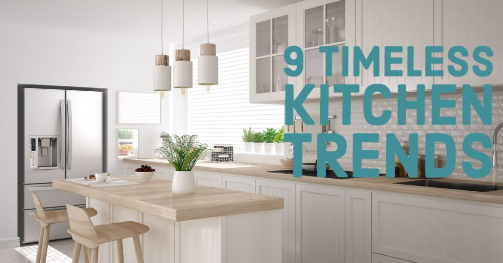 9 kitchen trends