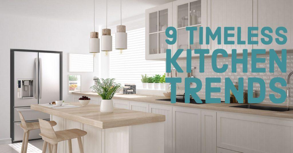9 kitchen trends