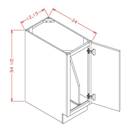 BASE 12 FULL HEIGHT TRAY DIVIDER KIT