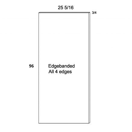PGW-TEP3096 -  Tall Panels- 25.31 inch