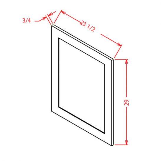 SC-VDEP - Panel-Vanity Decorative End Panel - 20.5 inch