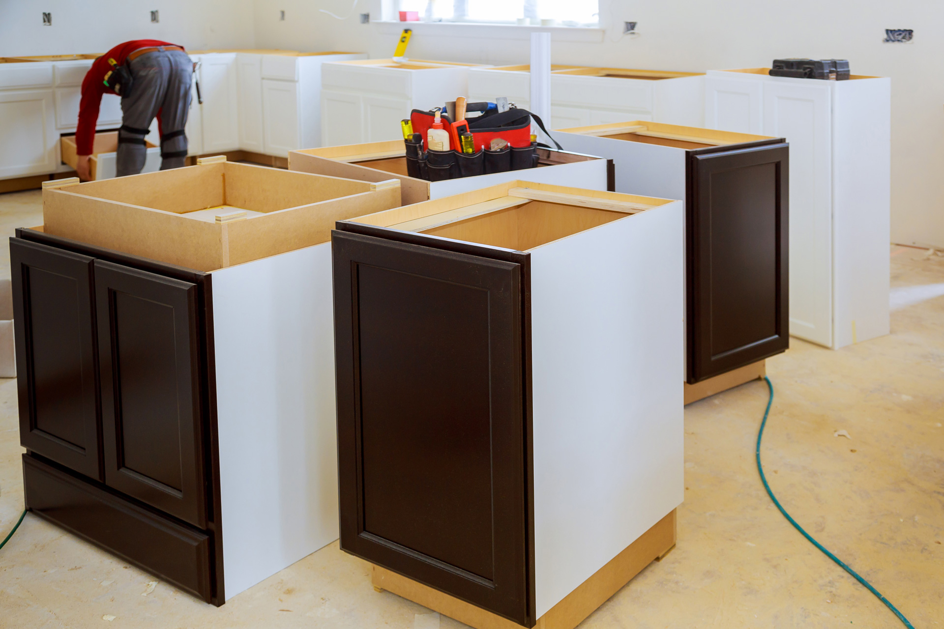 Assembled Cabinets Cabinet