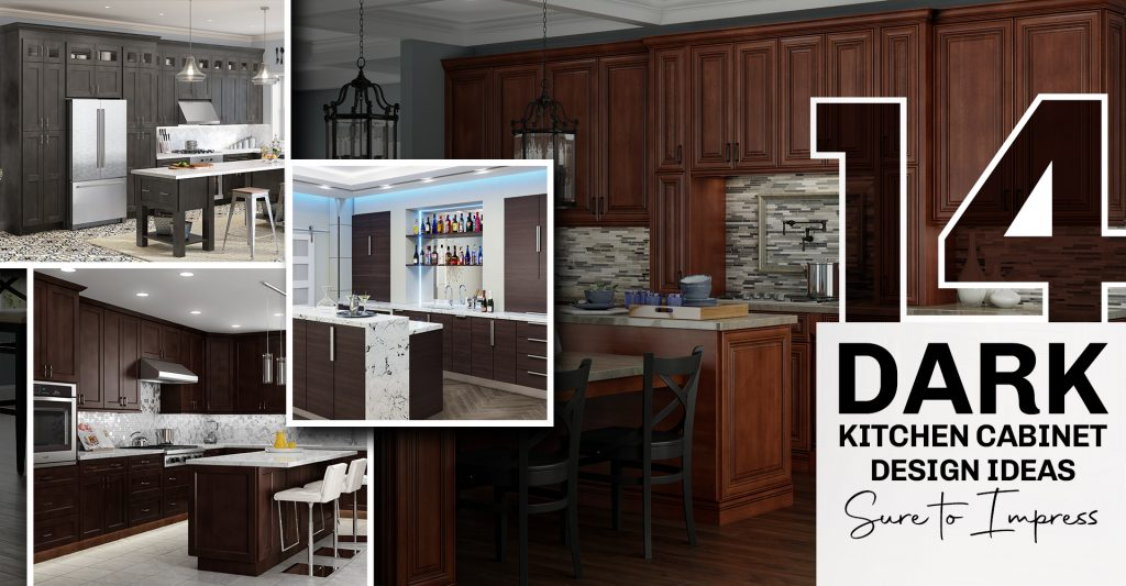 14 Dark Kitchen Cabinet Design Ideas Sure to Impress