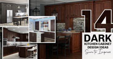 14 Dark Kitchen Cabinet Design Ideas Sure to Impress
