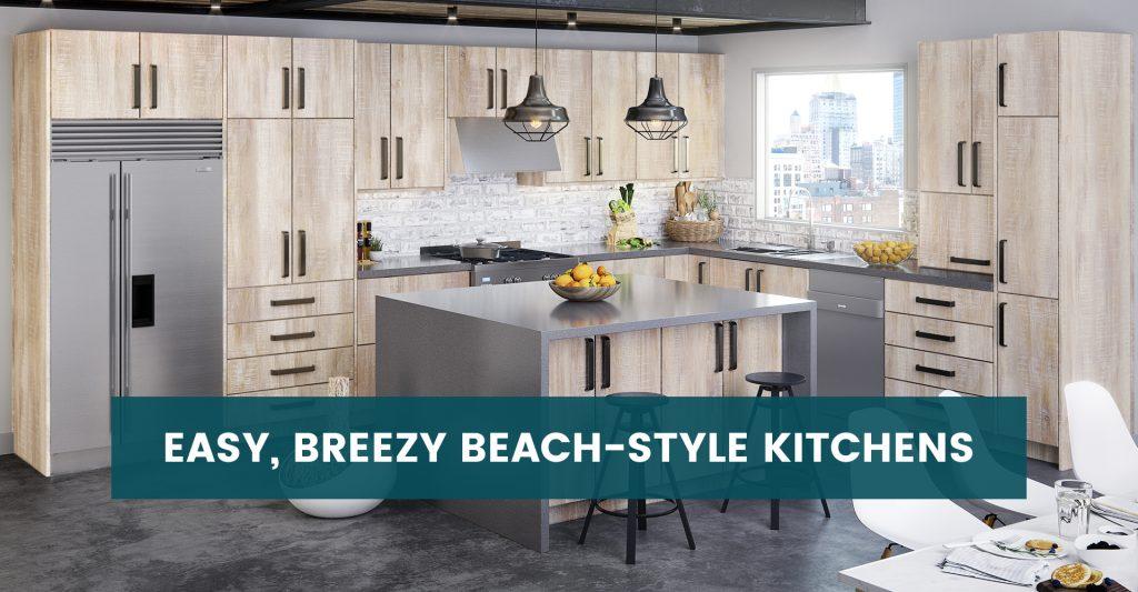 Easy, Breezy Beach-style Kitchens
