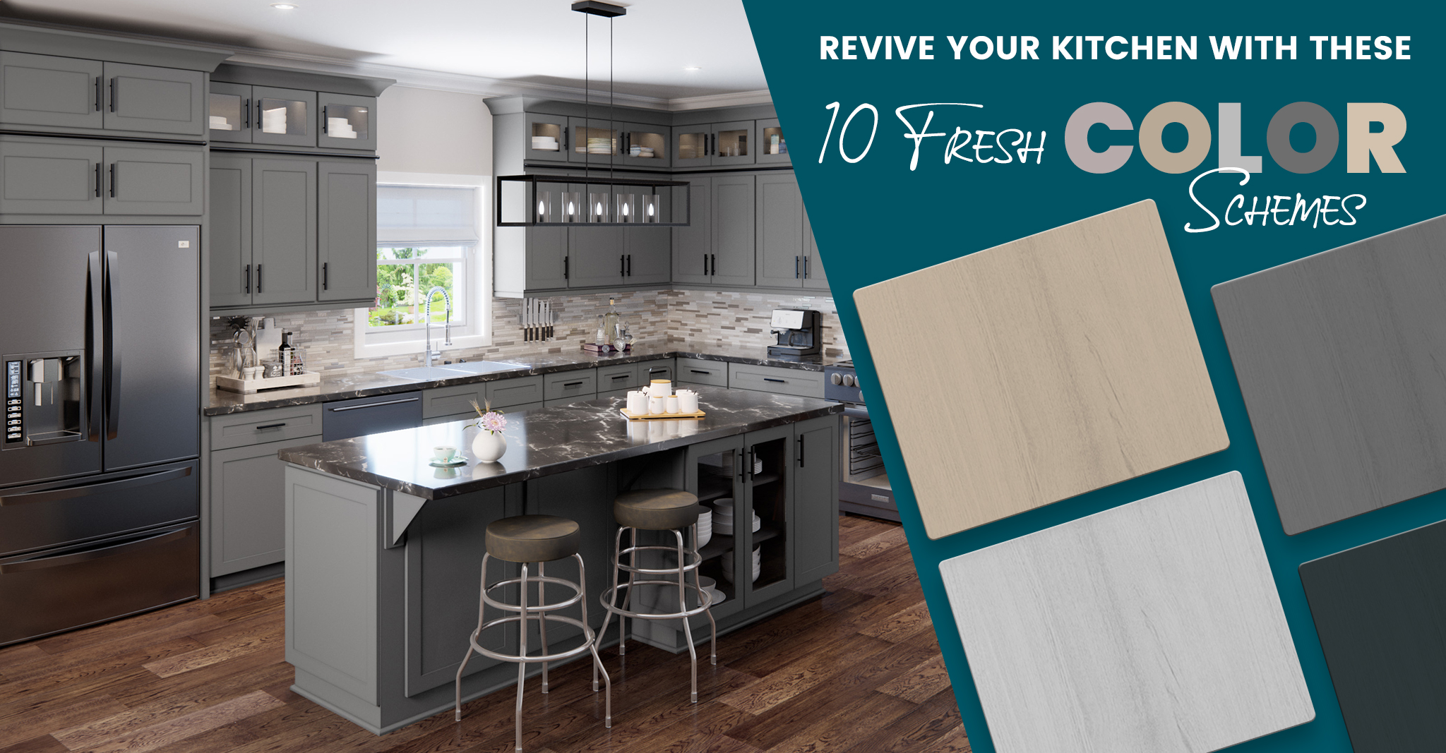 Revive Your Kitchen With These 10 Fresh Color Schemes