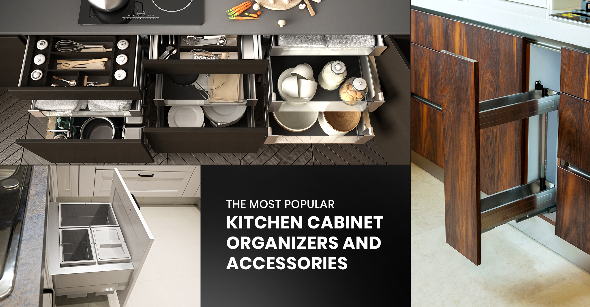 The Most Popular Kitchen Cabinet Organizers and Accessories