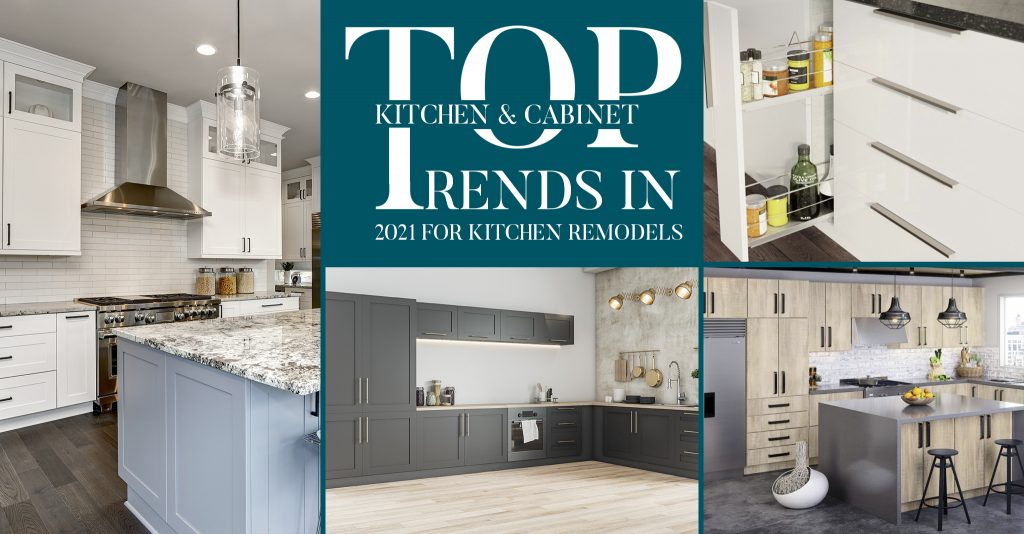 Top Kitchen and Cabinet Trends in 2021 for Kitchen Remodels