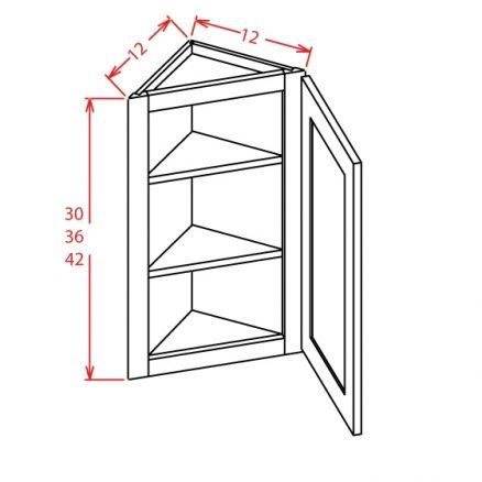 YW-AW1230 - Angle Walls - 12 inch
