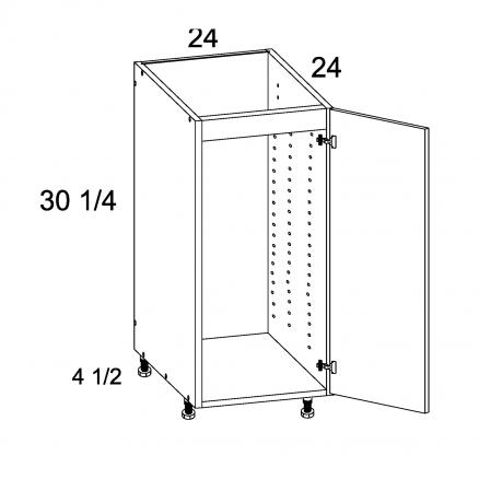 ROS-SB24SFH - Full Height Single Door Sink Base - 24 inch