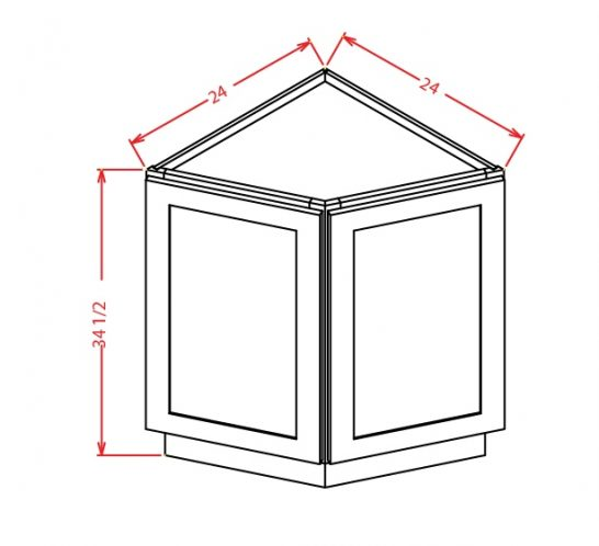 SD-BEC24 - Base End Cabinet - 24 inch