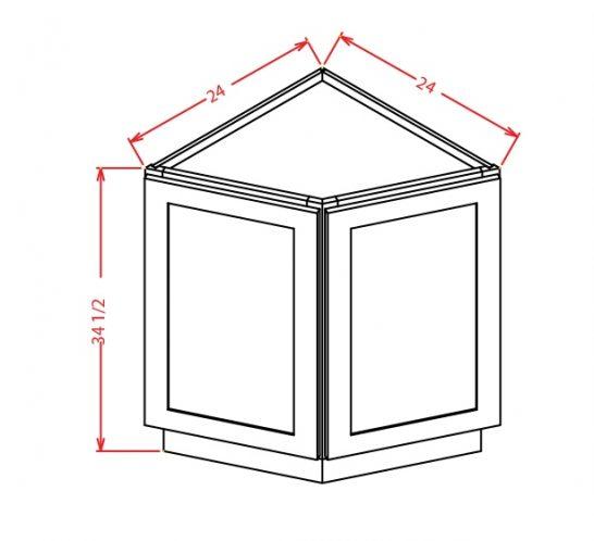 YC-BEC24 - Base End Cabinet - 24 inch