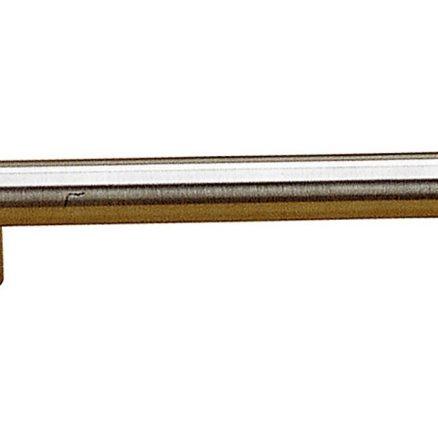 """Pull - Modern Bar - 6"""" - Brushed Nickel"""