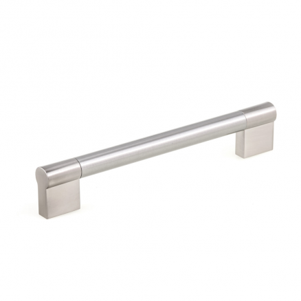 "Pull - Contemporary Bar - 6"" - Stainless Steel"