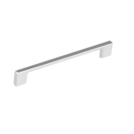 "Pull - Contemporary Block Bar - 7"" - Chrome"