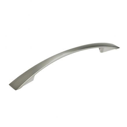 "Pull - Contemporary Bow - 6"" - Brushed Nickel"