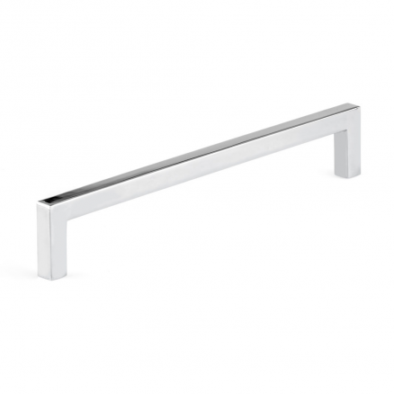 "Pull - Contemporary Right Angle - 7"" - Polished Nickel"