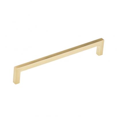 "Pull - Contemporary Right Angle - 7"" - Champagne Bronze"