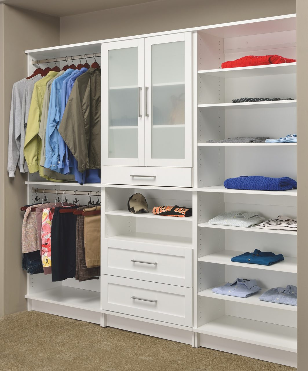 tall closet cabinet for pantry