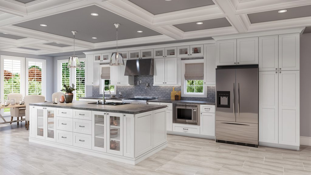 Clean lines for a modern kitchen