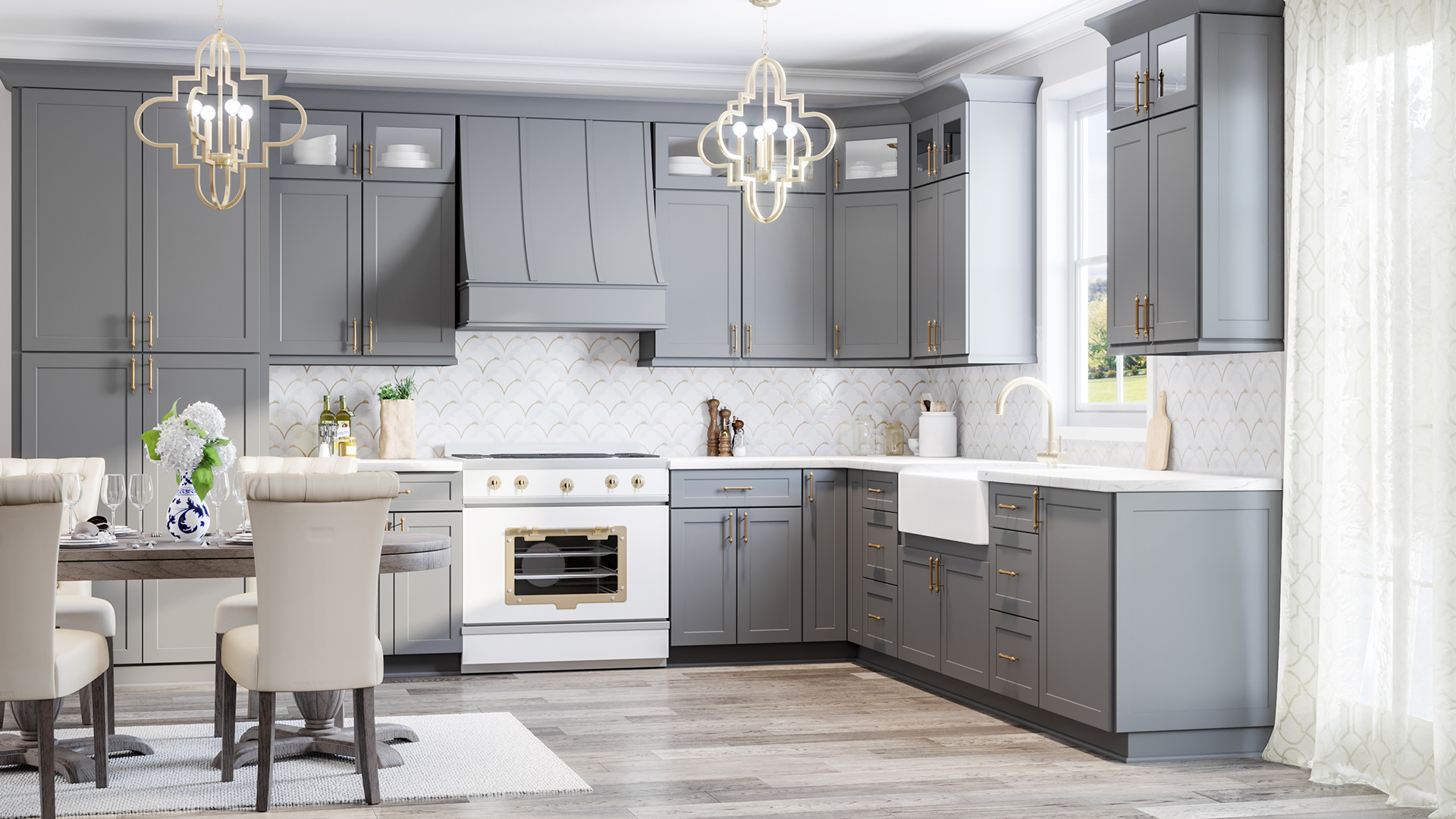 Candler - Classic Strapped - Shaker Gray