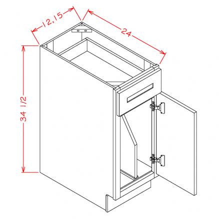 CW-B15TD - Tray Divider Bases
