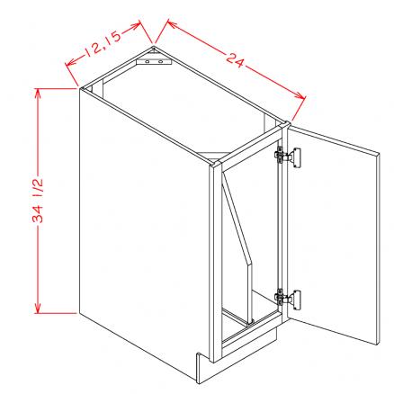 YC-B12FHTD - Full Height Tray Divider Bases