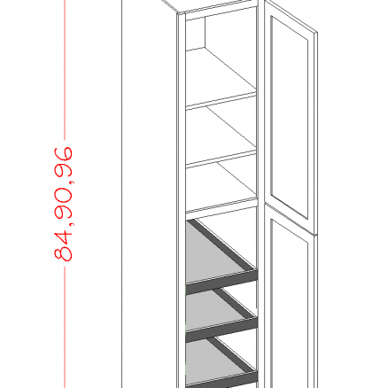 YC-U1896244RS - Double Door Rollout Utility