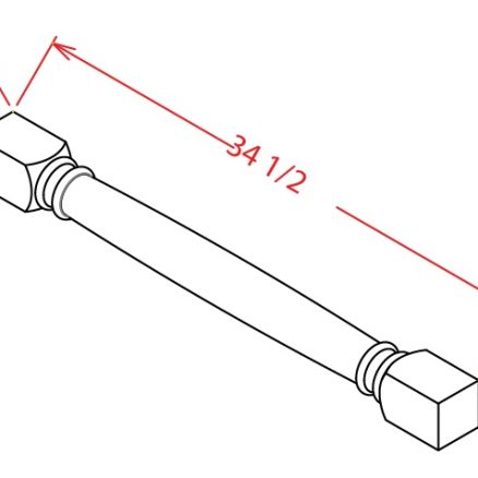 SC-CLDL - DECORATIVE LEG - 3 inch