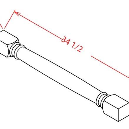 CS-CLDL - DECORATIVE LEG - 3 inch