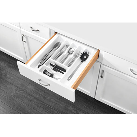 "CT-3W-52 - Polymer Cut-To-Size Cutlery Organizer Drawer Insert (14-3/4 to 17-1/2"")"