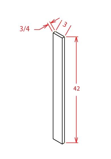 SMW-F342 - Filler-Filler 3 X 42 - 30 inch
