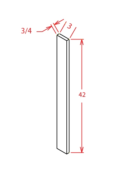 SG-F342 - Filler-Filler 3 X 42 - 3 inch