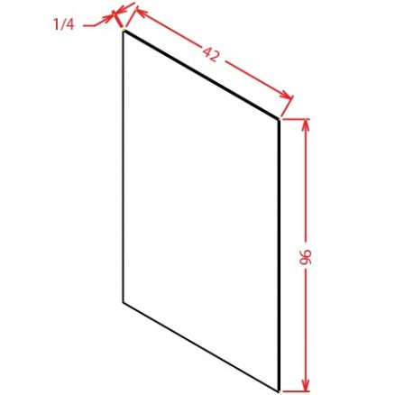 SS-FPV4296 - Panel-Finished Plywood Panel - 15 inch