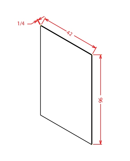 SG-FPV4296 - Panel-Finished Plywood Panel - 48 inch