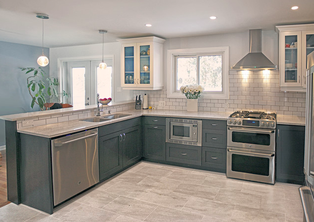 10 Ways To Style Gray Kitchen Cabinets Design Ideas