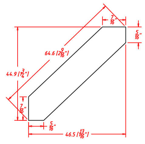 SD-ACM8 - Molding-Angle Crown Molding - 96 inch