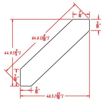 SMW-ACM8 - Molding-Angle Crown Molding - 15 inch