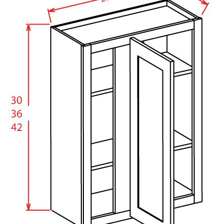 SS-WBC2742 - Wall Blind Cabinet - 96 inch