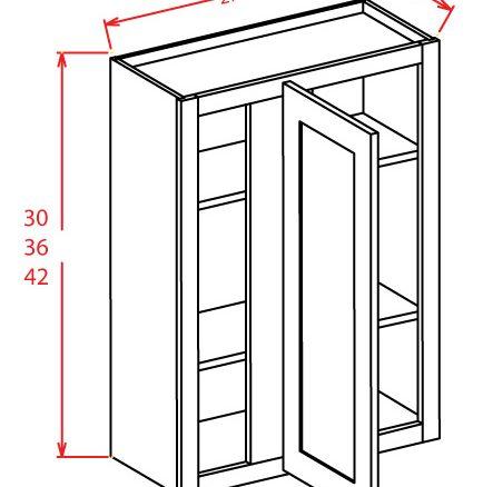 SA-WBC2742 - Wall Blind Cabinet - 27 inch